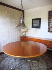 repräsentativer Tisch 140 cm 80erjahre