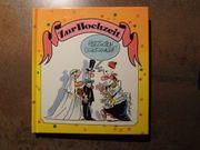 Geschenkbuch zur Hochzeit Karikatur