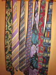 Krawatten versch.
