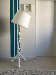 Stehlampe weiss von Ikea