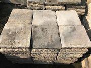 Historische Bodenplatten aus Sandstein 1800