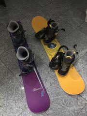 Snowboard inkl Schuhen