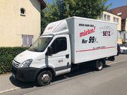 Transporter mit Ladeboardwand zu vermieten