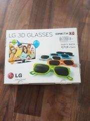 LG 3D Brillen Party Pack