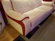 Leder couch set jeweils eine