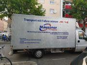 Transport mit Fahrer mieten für