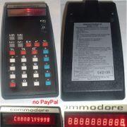 Taschenrechner commodore 4109 mit roter