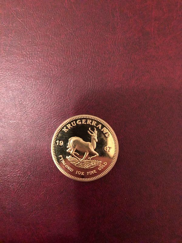 1 unze Goldmünze Krügerrand 1967 gebraucht kaufen  63128 Dietzenbach