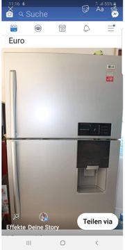 Große LG Kühl-Gefrier-Kombi