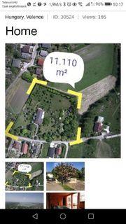 Anwesen mit Villa 45 Km