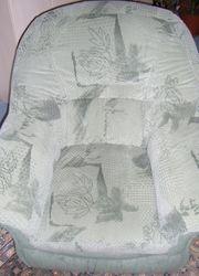 Sessel sehr bequem