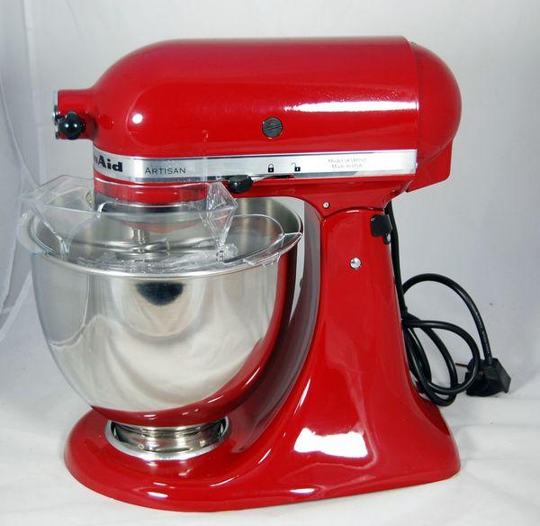KitchenAid Küchenmaschine Artisan rot 5KSM150PSEER Knethaken ...