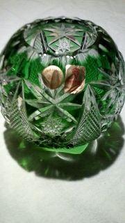 5 Vasen Bleikristall