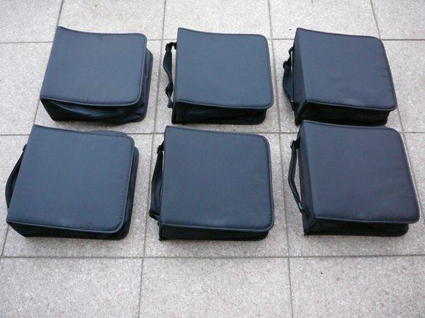 Verkaufe 6 X Hama CD-Wallet / CD-Taschen aus Nylon für je 304 CDS ...