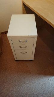 Rollcontainer Ikea, Farbe Weiß gebraucht kaufen  Speyer