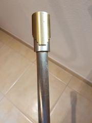 Vorhangstange Edelstahl 223 cm