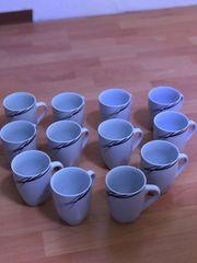 Kaffeetassen 12 Stück neu