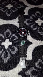 PARACORD SPECIAL UHR MIT COMPASS