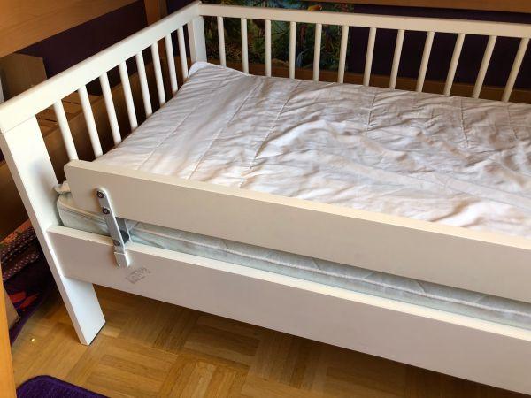 Ikea Kinderbett 70x160 weiß gebraucht kaufen  81375 München