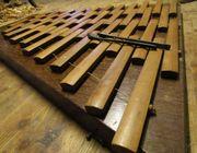 Strohfiedel, Xylophon, Holzharmonika,