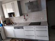 Einbauküche Doppelblock mit Soft-Close-System und