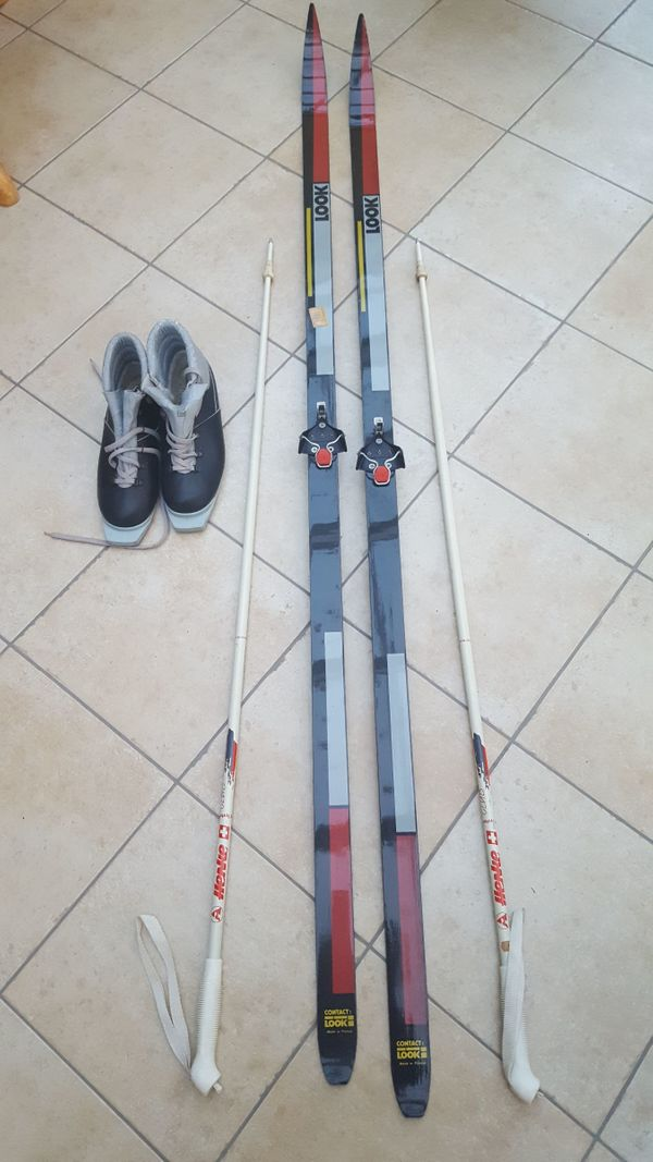 SALOMON LANGLAUF SKI M. Bindung u. Schuhe 174 EUR 129,00