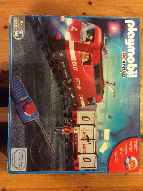 Playmobil Eisenbahn 4010 mit zusätzlichen