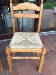 6 Stühle Massivholz