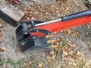 Heckbagger für kleine Traktoren Schlepper