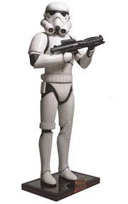 Star Wars Stormtrooper Lizenzfigur Lebensgr