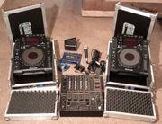 Paar Pioneer CDJ