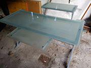 Glas PC Tisch