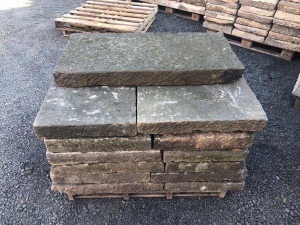 Sandsteinplatten Abdeckungsplatten Mauerplatten Steinplatten