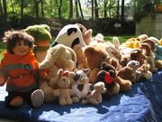 Spielzeug über 30 Plüschtiere Zoo