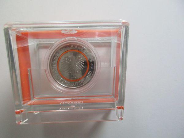 5 Euro Münze Subtropische Zone 2018 Spiegelglanz In Münzbox