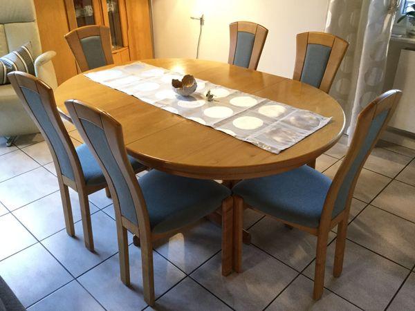 Esszimmer Esszimmertisch Tisch Stuhle Esszimmertisch Erle Massiv Mit