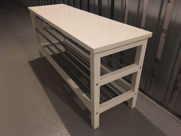 Schuhbank Ikea Weiss