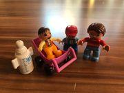 Lego Duplo Mutter mit Kindern