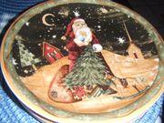 Weihnachts - Essteller