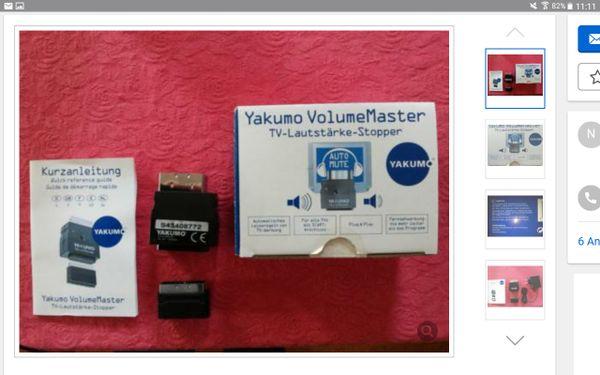 Yakumo VolumeMaster TV Lautstärkereglung