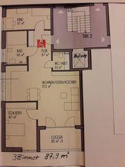 Brackenheim - Erstbezug Schöne 3-Zimmer-Wohnung mit