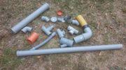 diverse PVC rohre