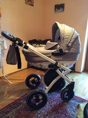 Knorr-Baby Kombi-Kinderwagen ALIVE ART Edition