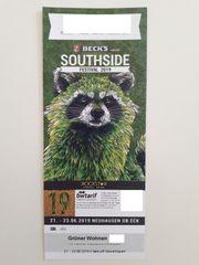 Southside 2019 Festival-Ticket Grüner Wohnen