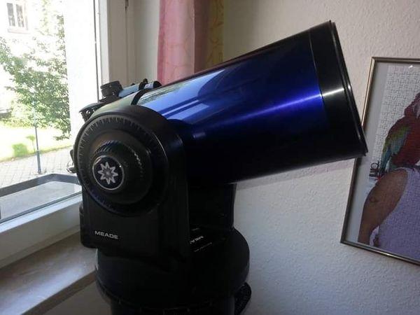 Teleskop rohrschellen birke und walnuss inkl zubehör
