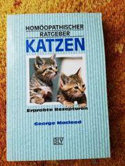 Buch Katzen Haustiere Homöopathie