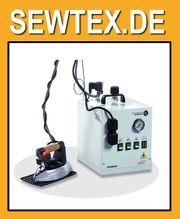 Bügeltechnik Battistella Dampfzeuger mit Bügeleisen -