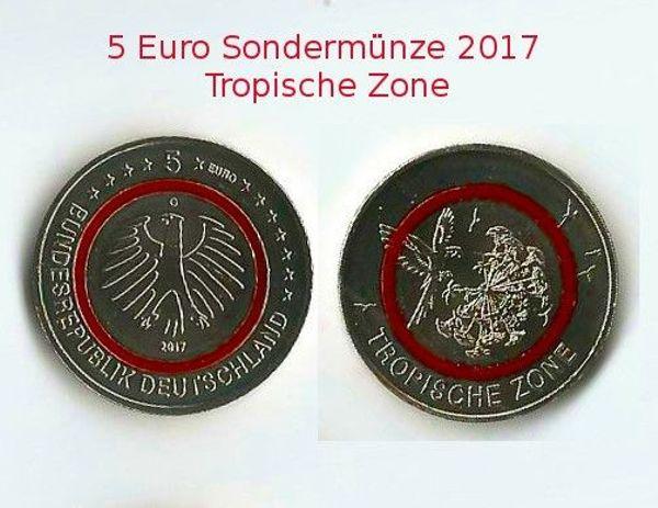 Tauscheverkaufe 5 Euro Sondermünzen 2017 Und 2018 In Rüsselsheim