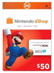 Nintendo eShop Card 50 - 50