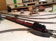 Dampflok BR 89 mit Güterzug